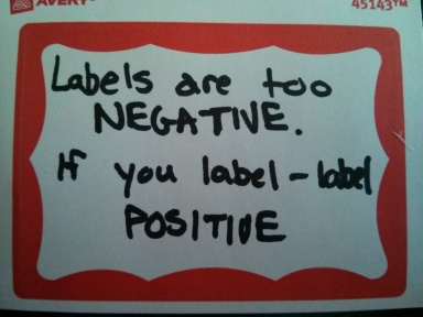 negative labels