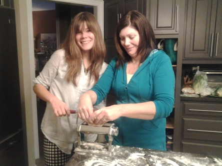 Mamma D makes a great assistant! :)