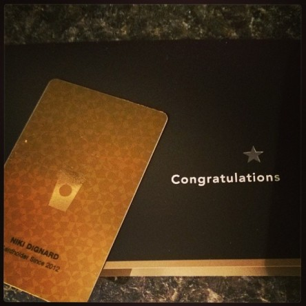 My certified coffee addict card. Thanks Starbucks. I feel the love.