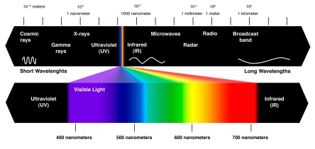 We see such a small section of the wavelength spectrum, we measure the rest, but what if there's more that we have not yet developed a way of detecting/measuring? What if there are species capable of SEEING radio waves? Some can already see infrared.  Source