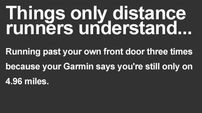 distance runners garmin