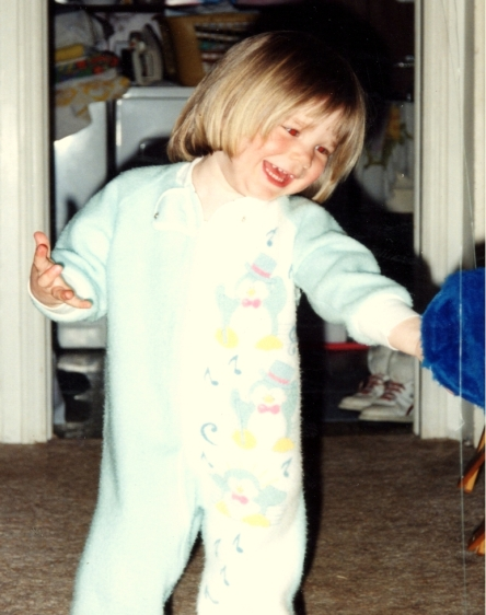 Rocking the onesie since '92. But I'm still glad the internet wasn't a big thing until I was mostly through the awkward stage. Except I was a cute kid.