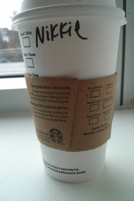 Congrats Starbucks. You're doing it right. It's cool, give me an extra star and we're good. If only.